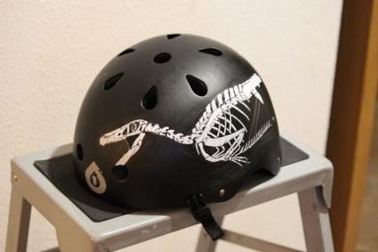 casco pintado por glungu